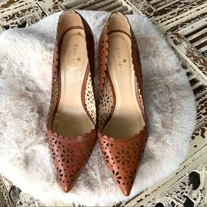 Kate Spade Lana Lazer Cut Heels